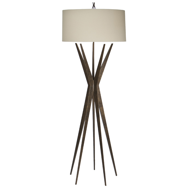 Starfall floor lamp
